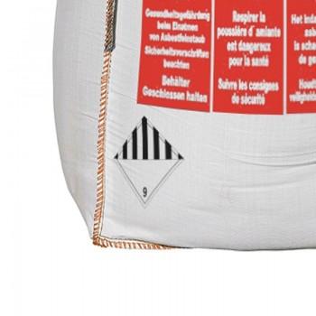 Asbest Big Bag mit doppeltem Inliner