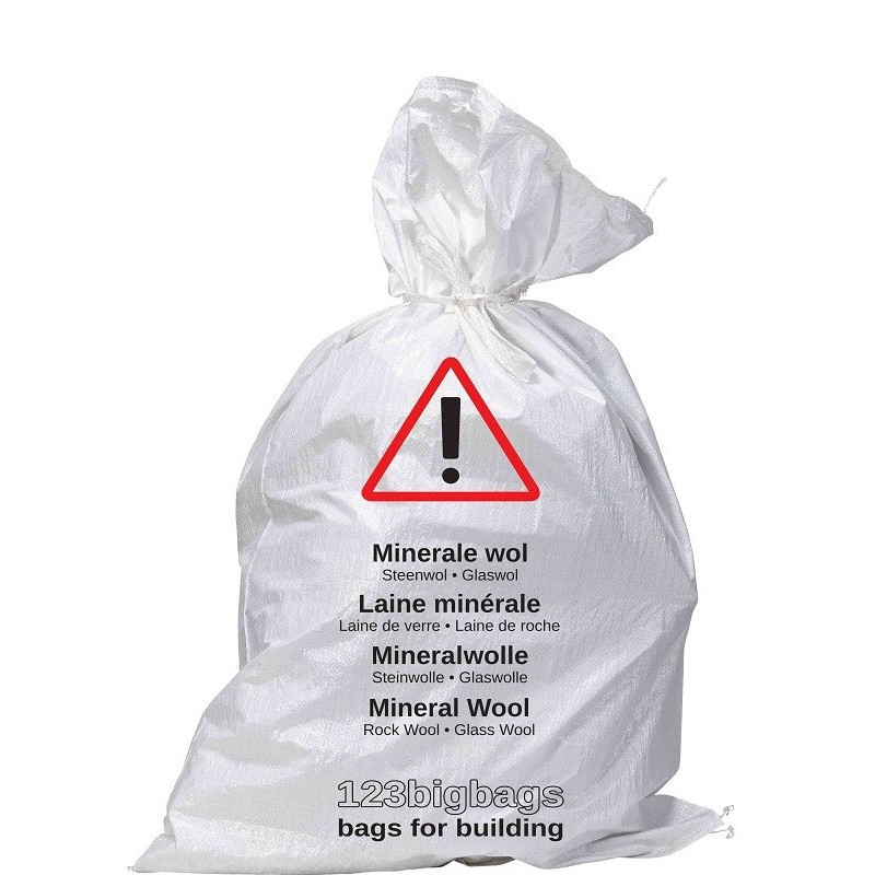 Rubble Sack for Mineral Wool