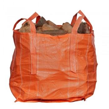 Oranje 0,5m3 Big Bag haardhout