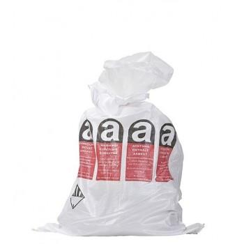 Asbest Polypropyleen zak met dubbele binnenzak