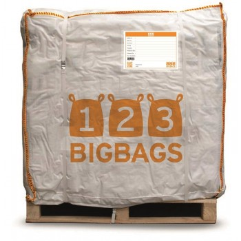 Pallet (310x) Big Bag Cross Corner lussen voor een kuub
