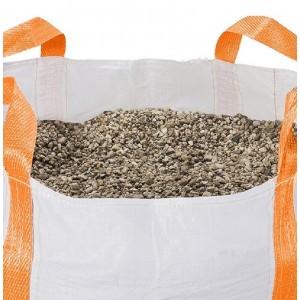 Big Bag Halve Kuub met grind