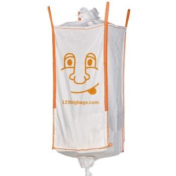 Extra hoge Big Bag met vulschort en losslurf