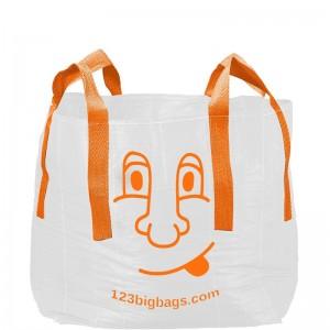 Big Bag Halve Kuub met smiley