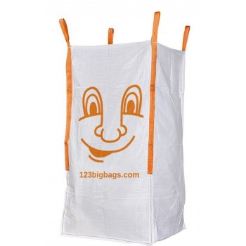 Extra hoge Big Bag met smiley