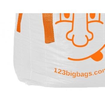 Big Bag für 0,5 Kubik, bedruckt