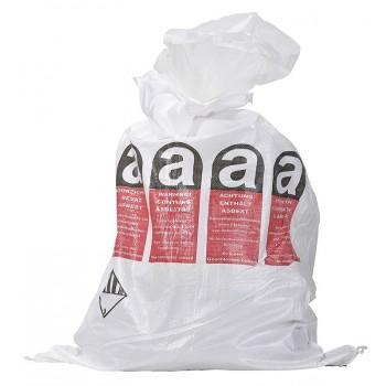 Asbest Flachsack mehrsprachig