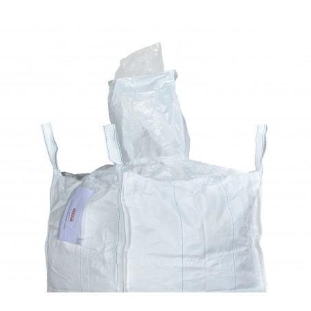 big bag 90x90x120 avec goulotte de remplissage + liner