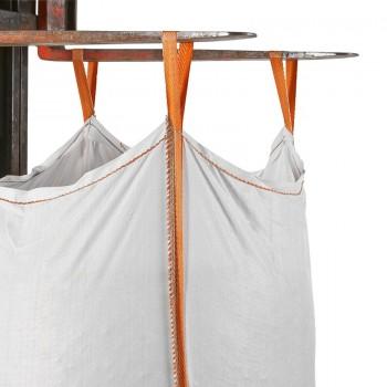 Big Bag mit Auslaufstutzen mit Loops, zum einfachen transportieren