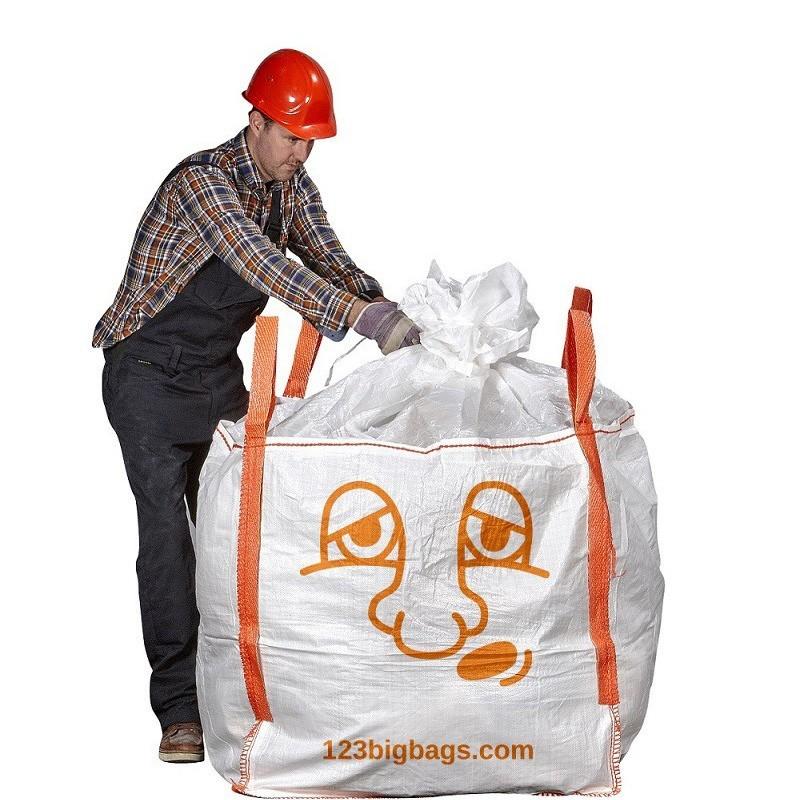 bedruckter verschließbarer Big Bag