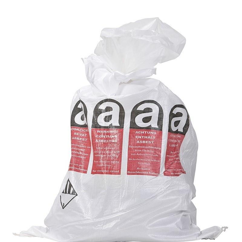 Asbestos Flat Bag with Liner
