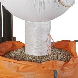 Big Bag mit Auslaufstutzen zum einfachen entleeren