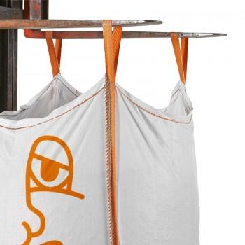 Big Bag bedruckt für Baugewerbe, Kran