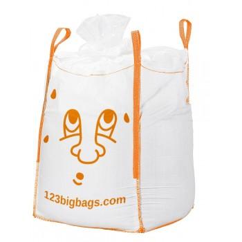 Big Bag inkl. Füllschürze mit Kordel und geschlossenem Boden