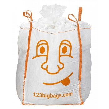 Big Bag bedruckt mit Füllschürze und Kordel