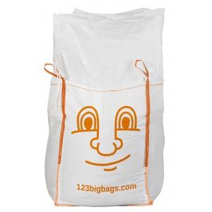 Big Bag bedriuckt mit Füllschürze für einfaches verschließen