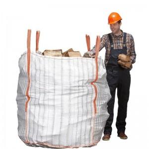 große luftdurchlässige Holztasche