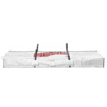 10 plattenbag ASBESTOS BIG BAG 320x125x30 cm plates Sack Asbestos Sheets disposal