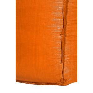 Orange big bag close up