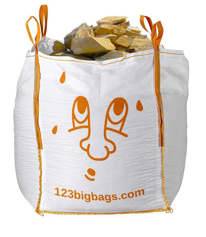 big bag solide pierres
