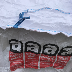 Asbest container bag