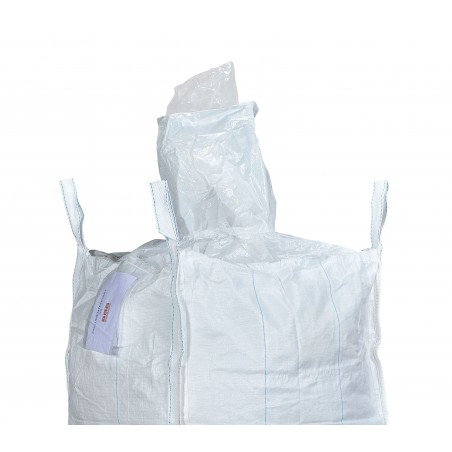 big bag 90x90x120 with filling spout + liner