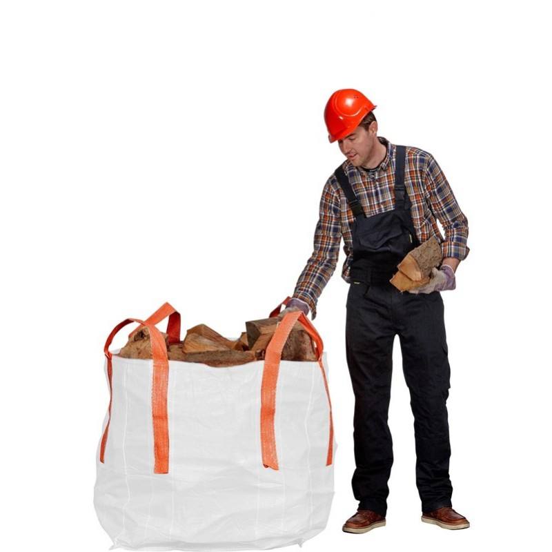 White Builders Bag
