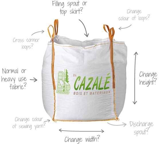 Custom-made bulk bag