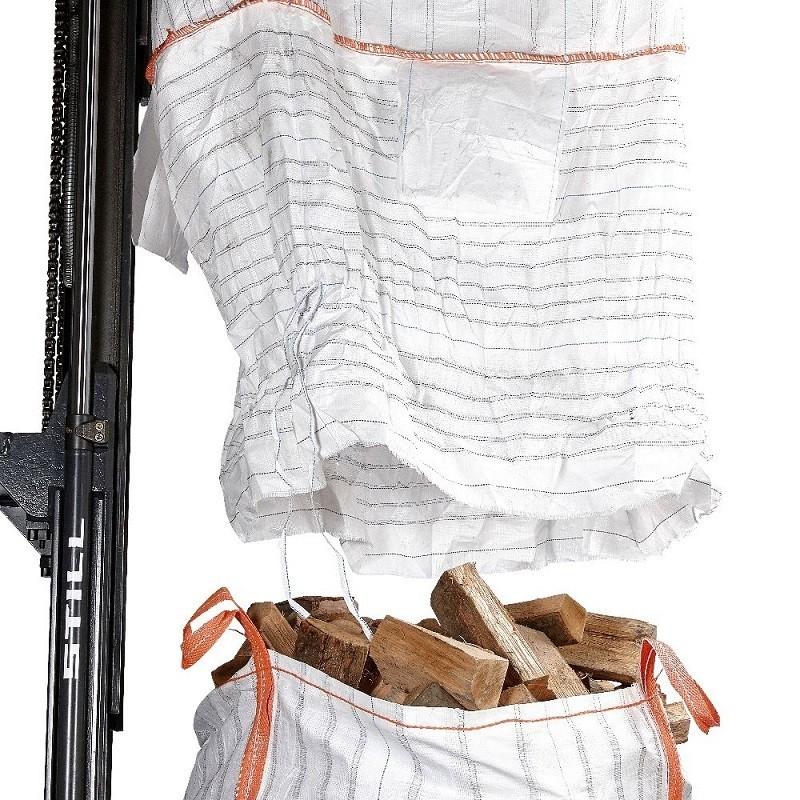 Geventileerde Big Bag met losschort