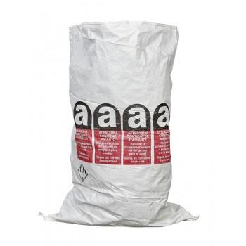 Płaski worek na azbest z podwójną wkładką foliową