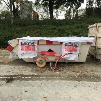 Worek na kontenery z azbestem