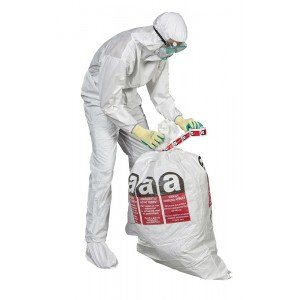 Asbestos Flat Bag with outside Liner